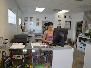 Creative Printing of Bay County - Panama City, Florida - Welcome to the Print Shop - Front Desk - Carol