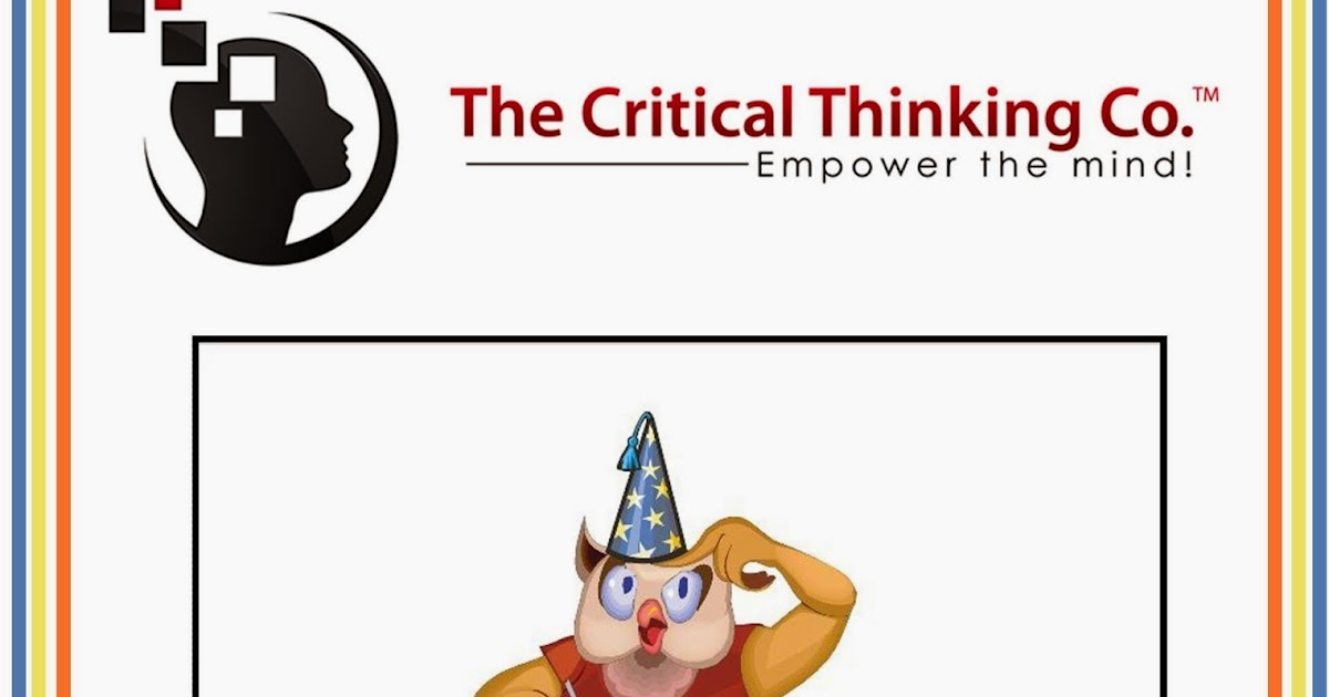 critical thinking company coupon Discounts average $4 off with a ebooks promo code or coupon 50 ebooks coupons now on retailmenot the critical thinking company coupons half price books coupons wordery coupons submit a coupon retailmenotca general about.