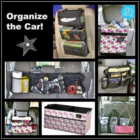 how do you organize your car
