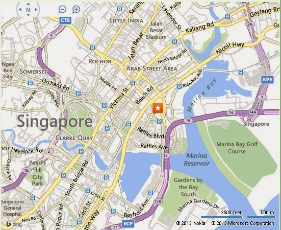 Detail Singapore XD Theatre Location Map – Tourist Map Of Singapore City