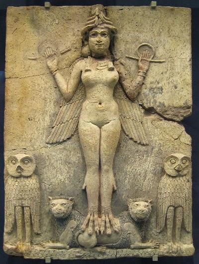 Dewi Inanna Ishtar, sumeria