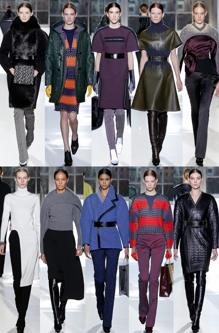 Balenciaga by Alexander Wang fall winter 2014 runway collection, PFW, Paris fashion week, FW14, AW14