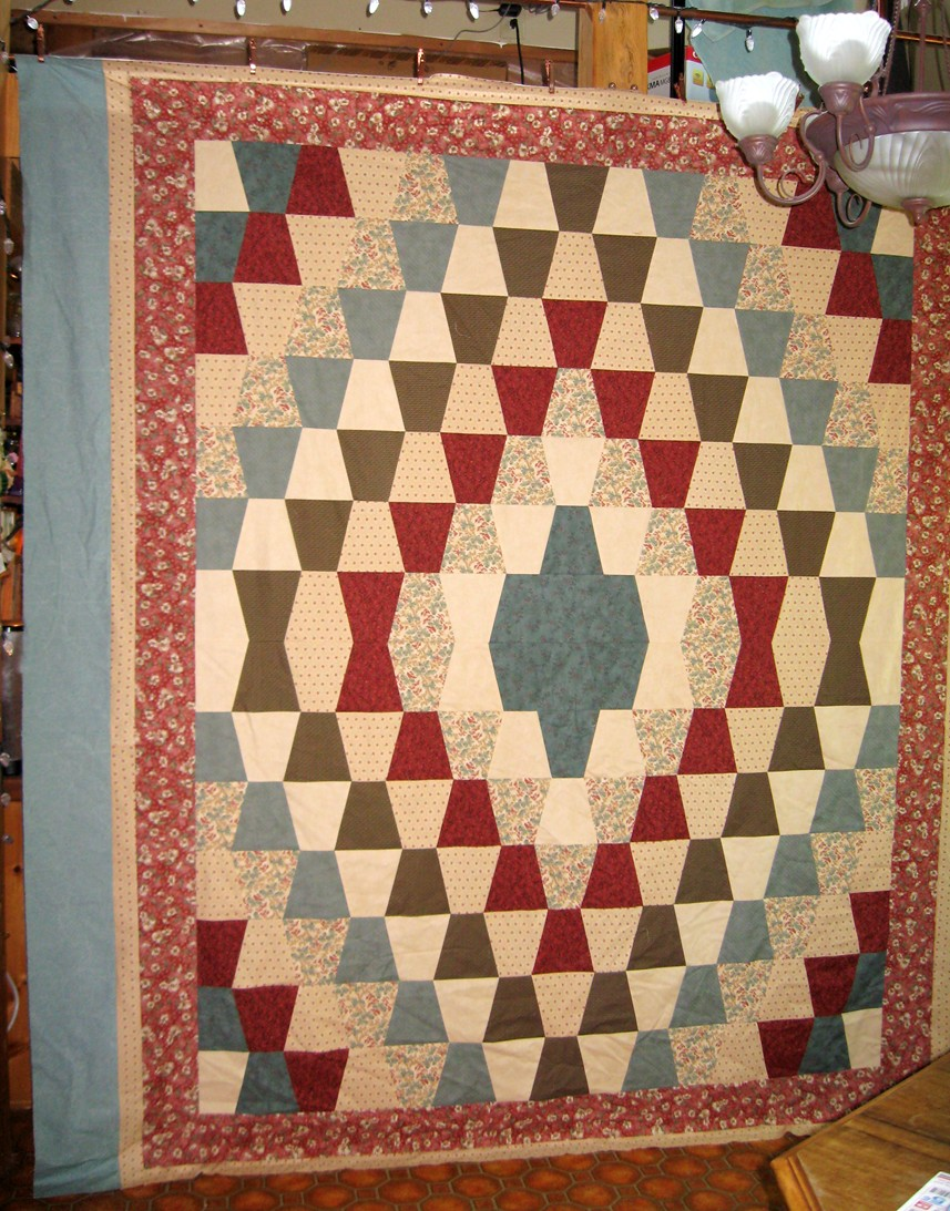 Froggy s Quilts and Things: Tumbler Quilt