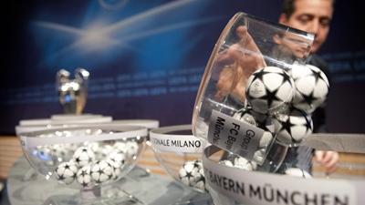 Sorteio da 'Champions' é manipulado com bolas que vibram (Vídeo)