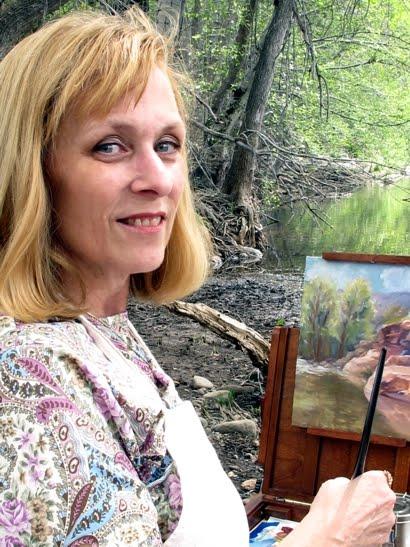 Wet Beaver Creek Paintout