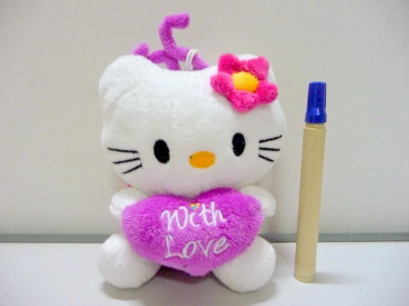 Gambar boneka lucu hello kitty