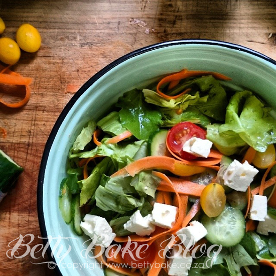 betty bake, salad, green food, yum, healthy living, choices, gluten free, delicious, blog, south africa