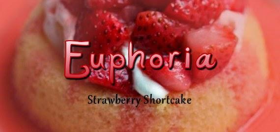 Euphoria - Strawberry Shortcake Eliquid