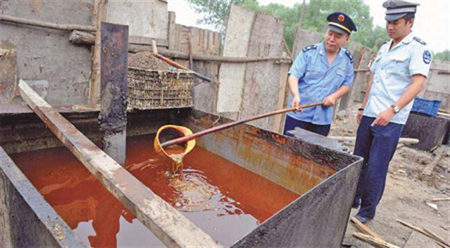 China tahan 32 orang yang jual minyak masak dibuat dari sisa buangan