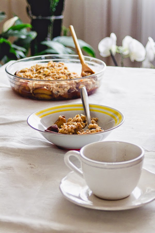 Rice Pudding with Roasted Plums | This is a Sweet Blog: Brown Rice ...