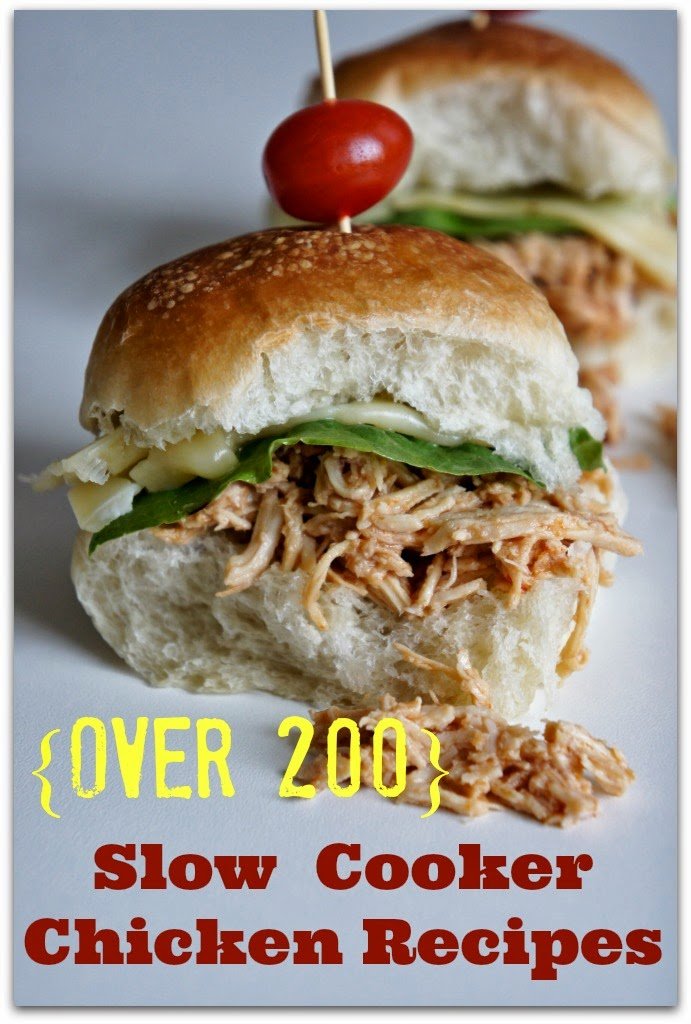 200 crockpot chicken recipes