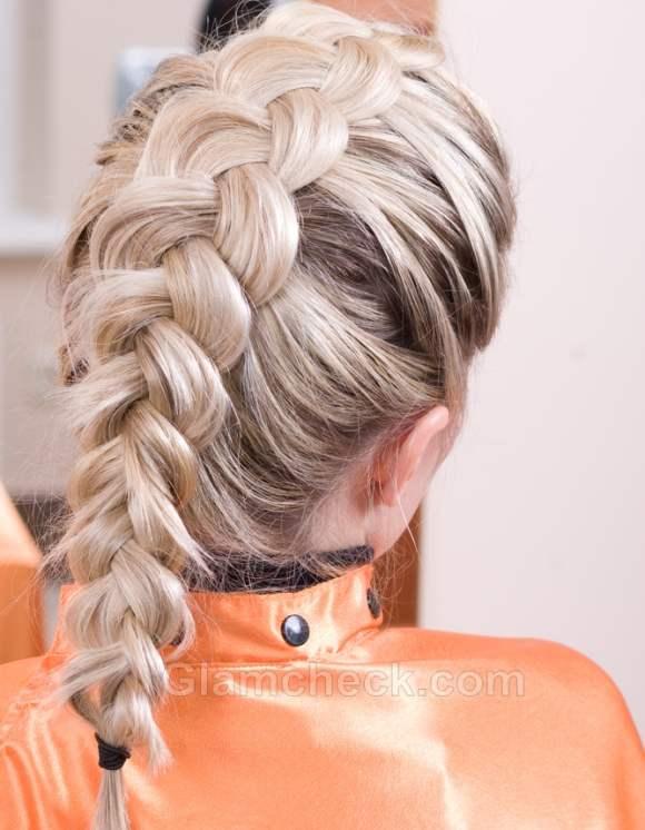 Easy 4 strand french braid style fashionip