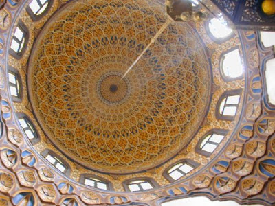 Mosque Al-Azhar in Cairo interior photos