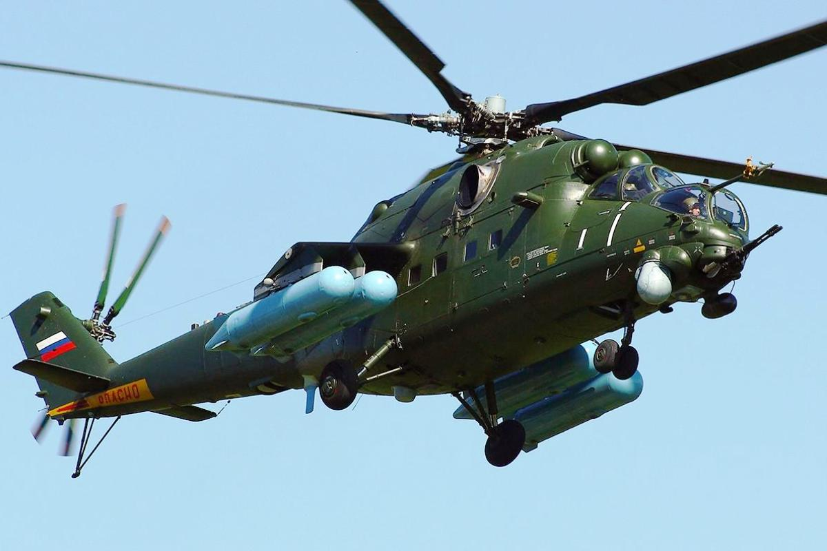 Mil Mi-35 Helicopter Attack Wallpaper 5