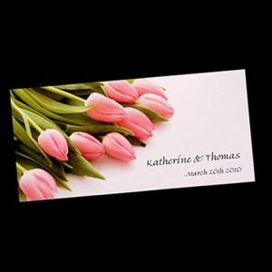 Tarjetas de Boda con Tulipanes, parte 5