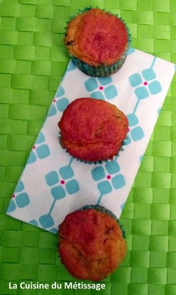 muffins pépites jambon cru