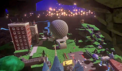 Disney Infinity Spaceship Earth castle video game