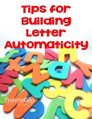 Letter Automaticity