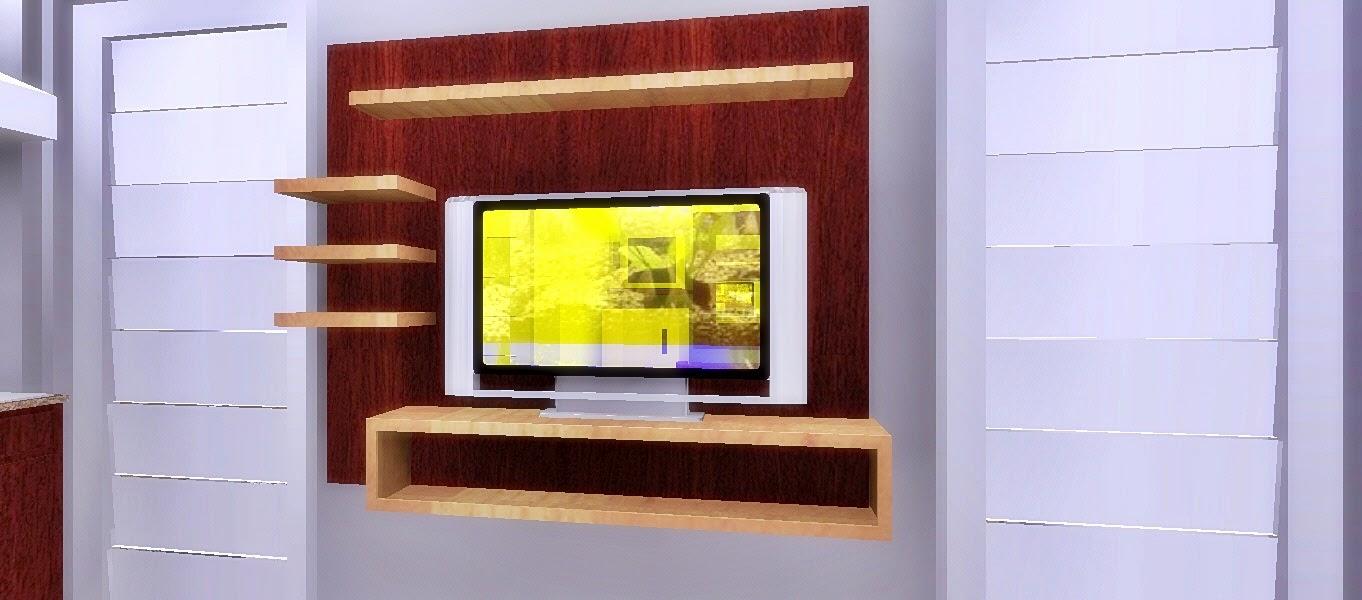 backdrop tv minimalis sederhana