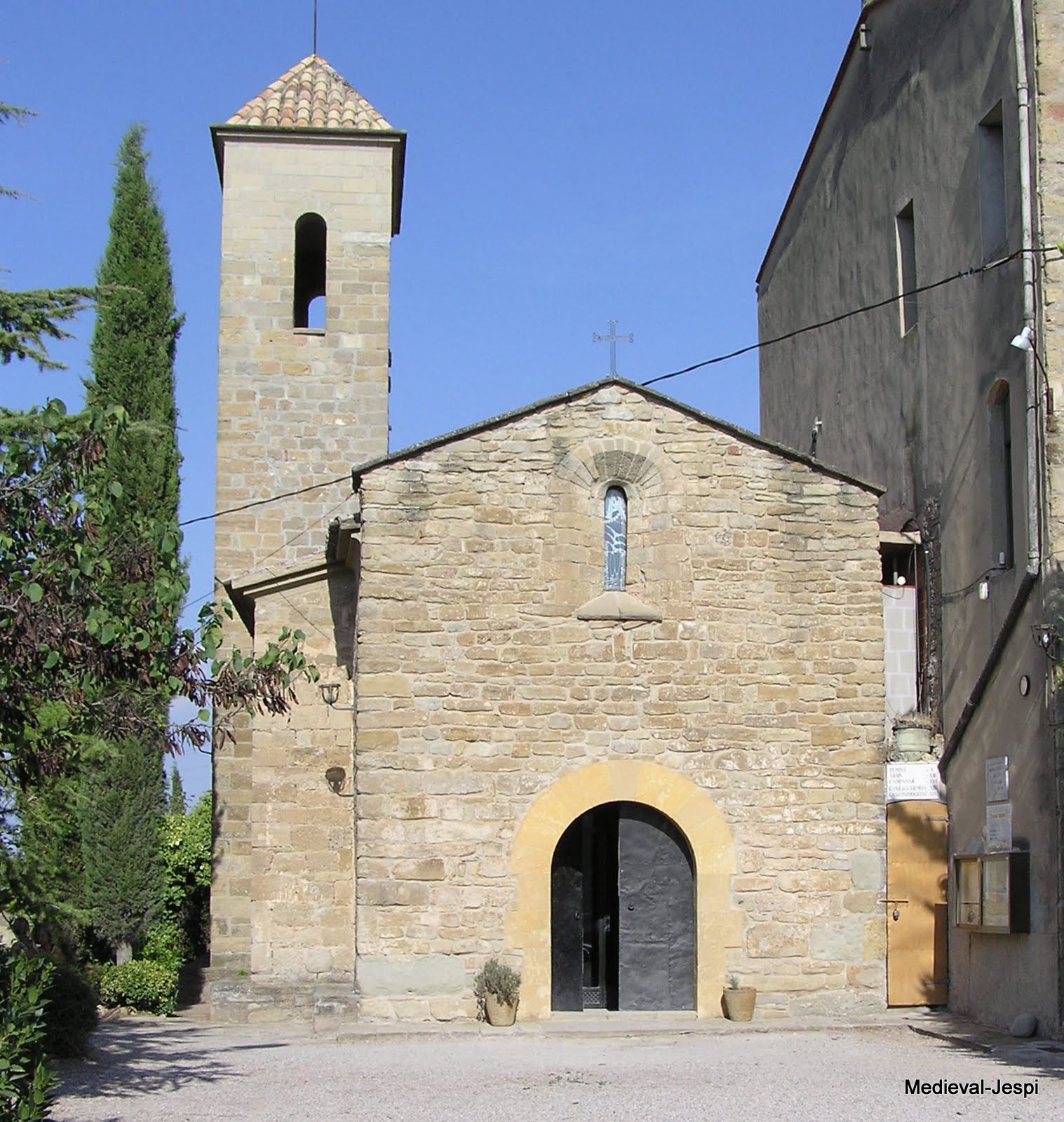 Arquitectura medieval ignasi de loyola a manresa for Arquitectura medieval