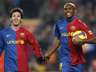 Eto'o prefiere a Lionel Messi como balón de oro 2011