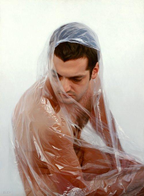 robin eley pinturas hiper realista pessoas retratos corpos plástico