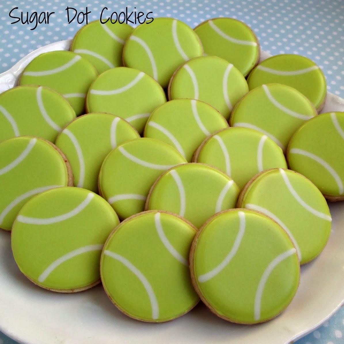 Easy Tennis Cake