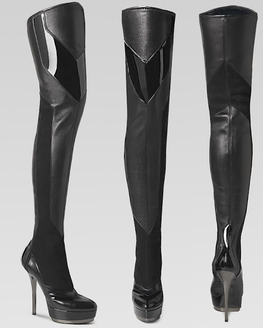 Over The Knee Boots Leather1