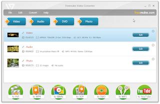 برنامج freemake video converter لتحويل صيغ الفيديو
