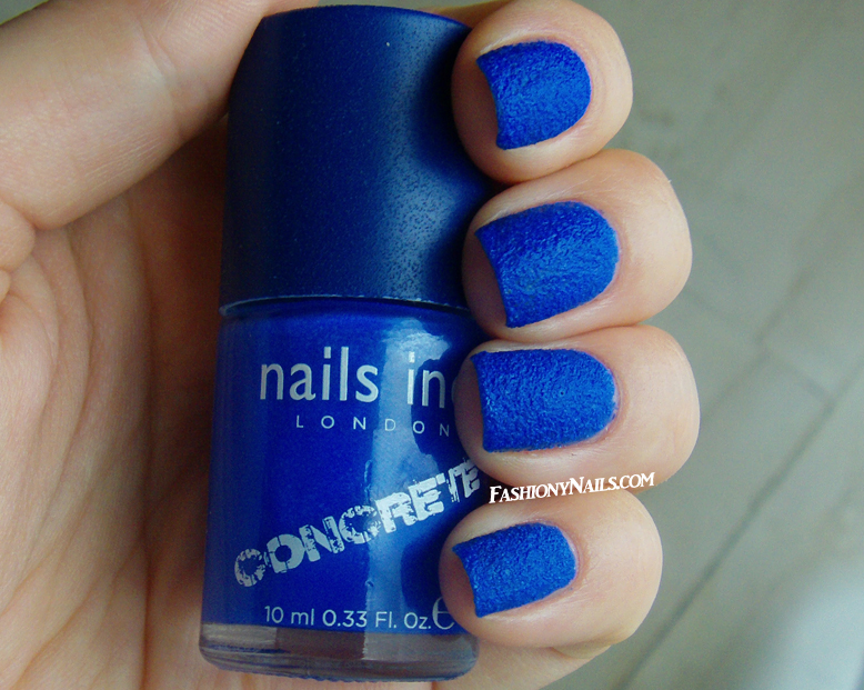 Nails Inc Concrete in Stonehenge Swatches