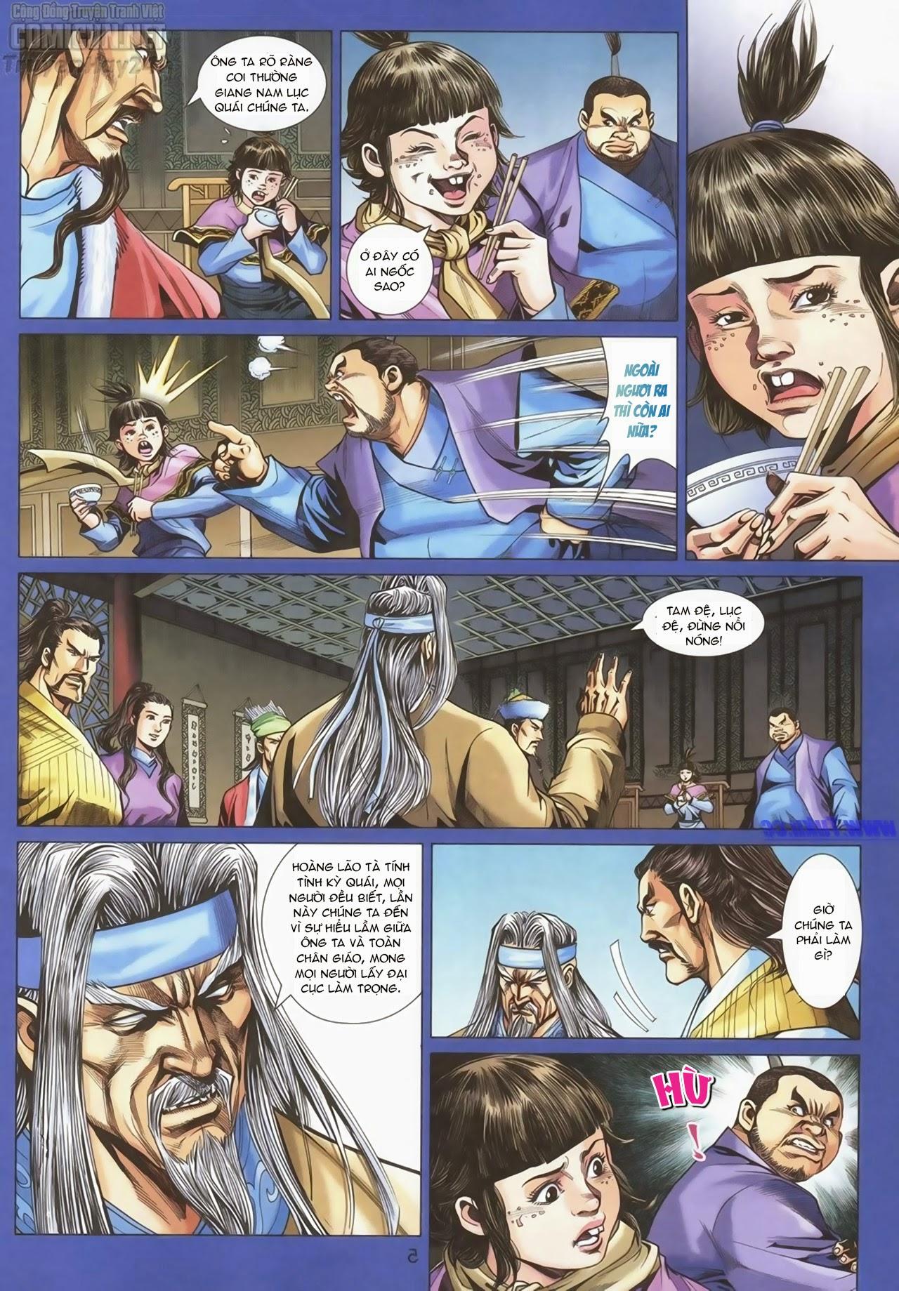 xem truyen moi - Anh Hùng Xạ Điêu - Chapter 90: Chân Tướng