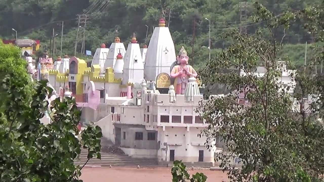 Lord Hanuman statue -Har ki Pauri Temple