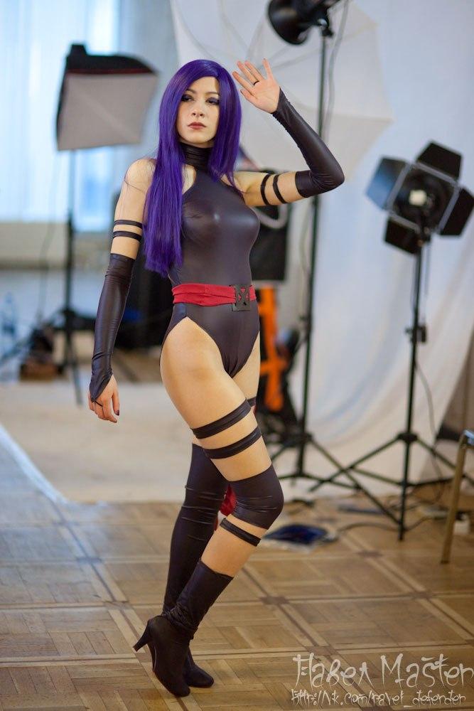 cosplay costume Psylocke