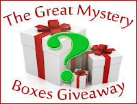 Enter The Great Mystery Boxes Giveaway: Secret Santa Edition today