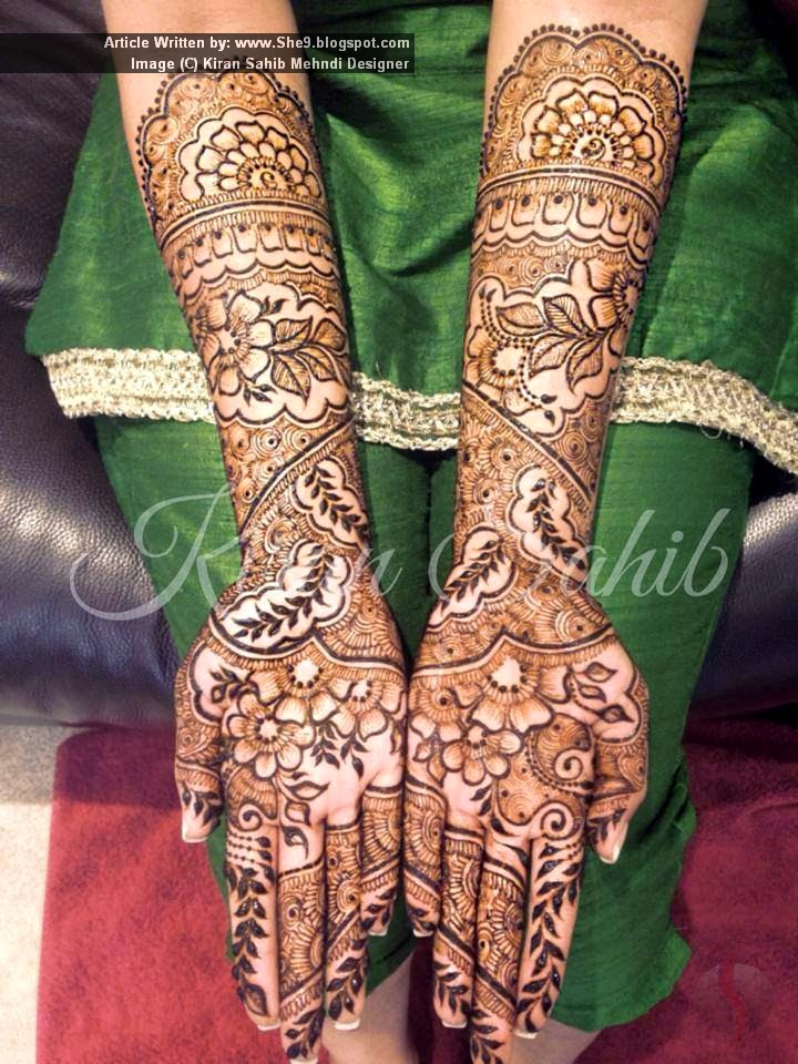Latest Mehndi Designs Pictures for Christmas