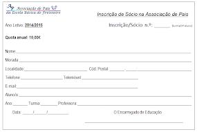 Inscrição de Sócio na APEE