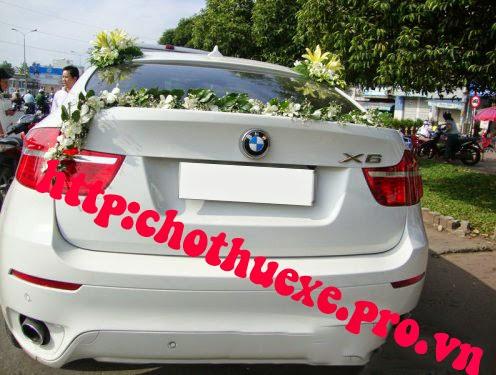 Cần thuê xe cưới BMW X6 sang trọng giá rẻ tại Hà Nội