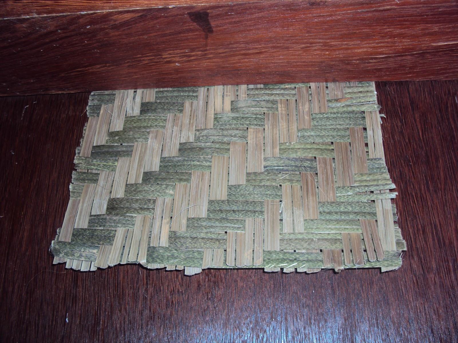Favoritos Alforria Artefatos em Bambu: Esteiras e treliças em bambu PE15