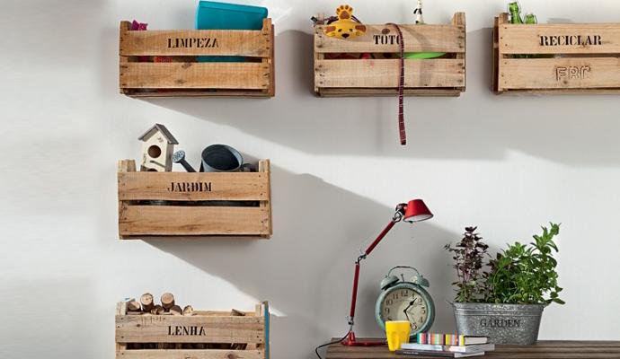 de inspirações para casa além de úteis os caixotes têm estilo