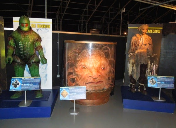 Doctor Who aliens exhibit