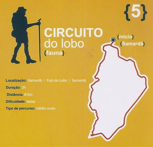 Circuito do Lobo: fauna