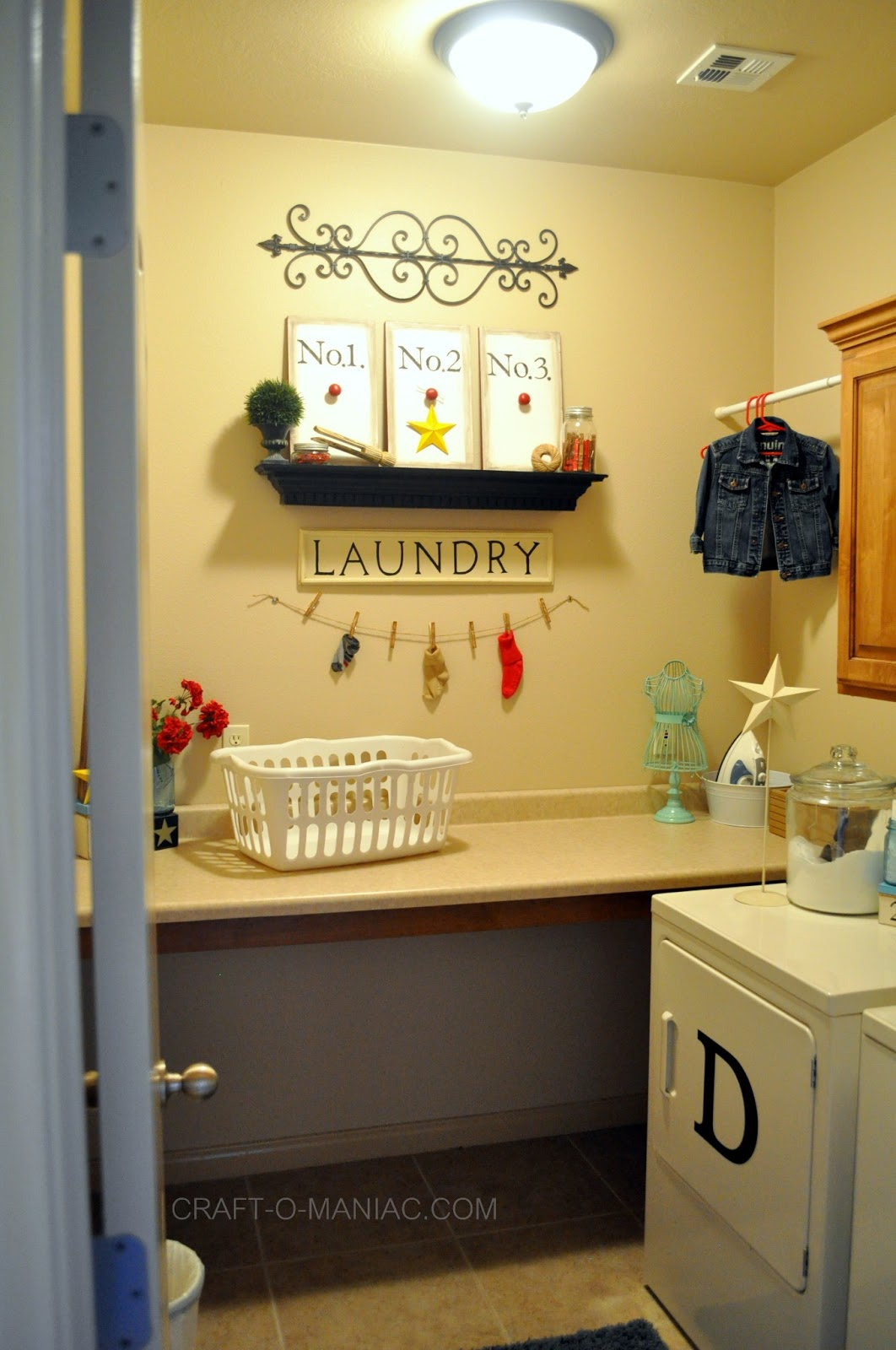 Cute Laundry Rooms Help In The Laundry Room  Craftomaniac