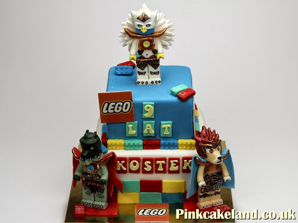 Lego Chima Birthday Cake