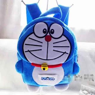 Gambar Tas Sekolah Doraemon Untuk Anak
