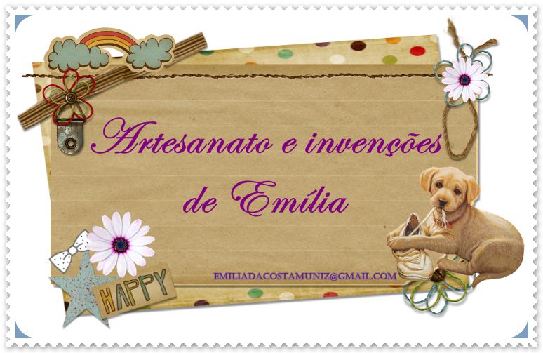 Artesanato e invenções de Emilia
