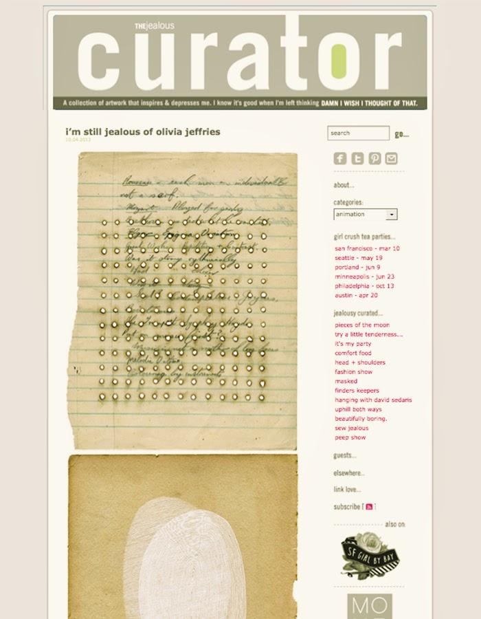 jealous curator blog