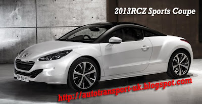 2013 RCZ Sports Coupe