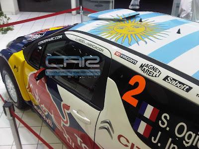 Techo DS3 WRC argetnina
