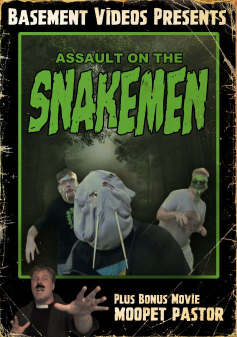 Assault On The Snakemen DVD Available Now!!!