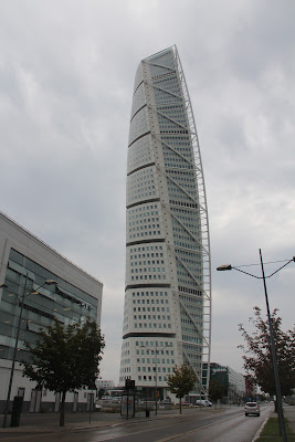 turning torso by Santiago Calatrava